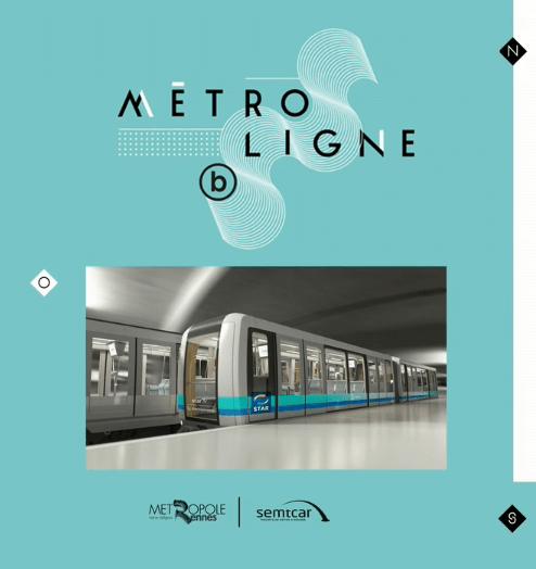Ligne B du Métro de Rennes